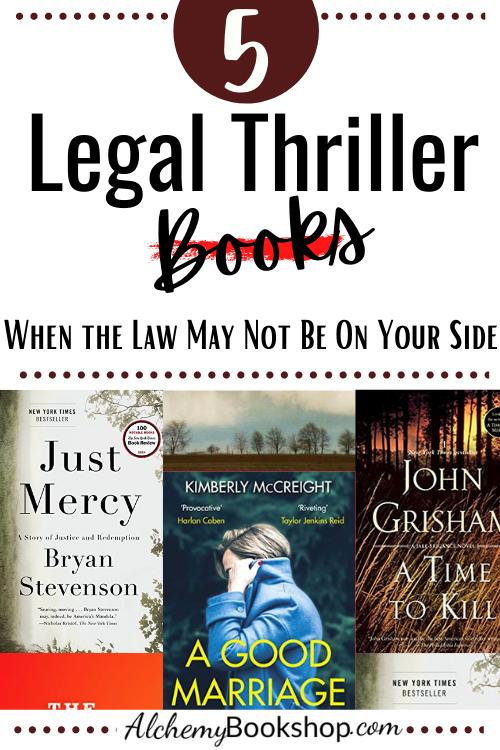 legal thriller novels