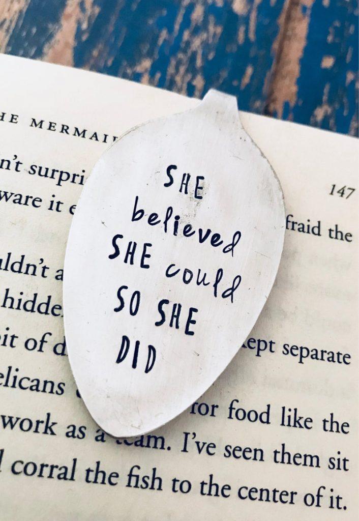 Silver Spoon Bookmark