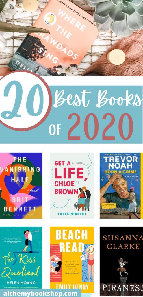 20 Five Star Books of 2020
