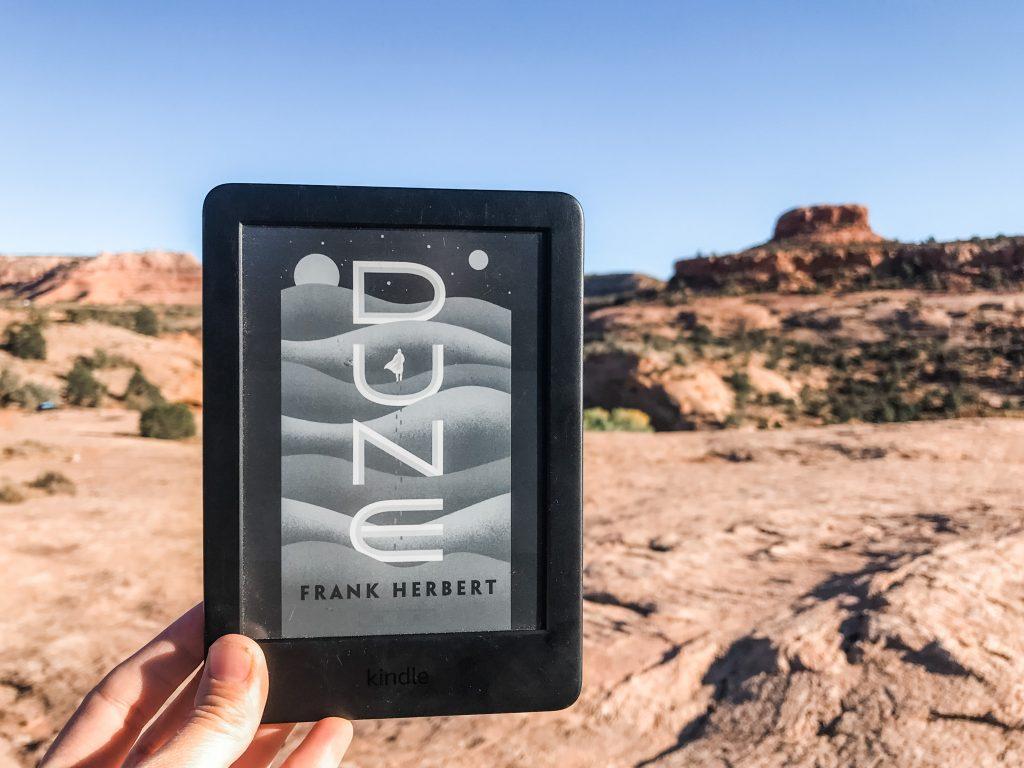 Dune in the desert